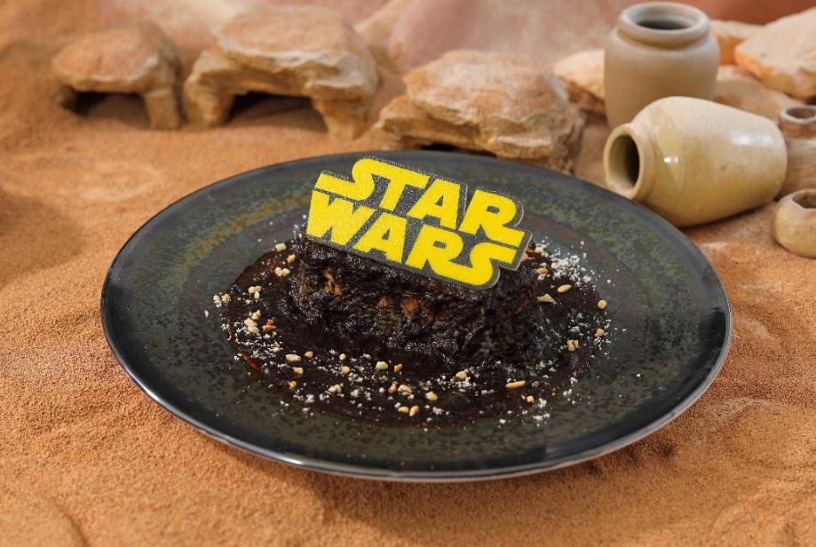 <STAR WARS >はるか彼方の銀河系ブラックカレー  1,590円