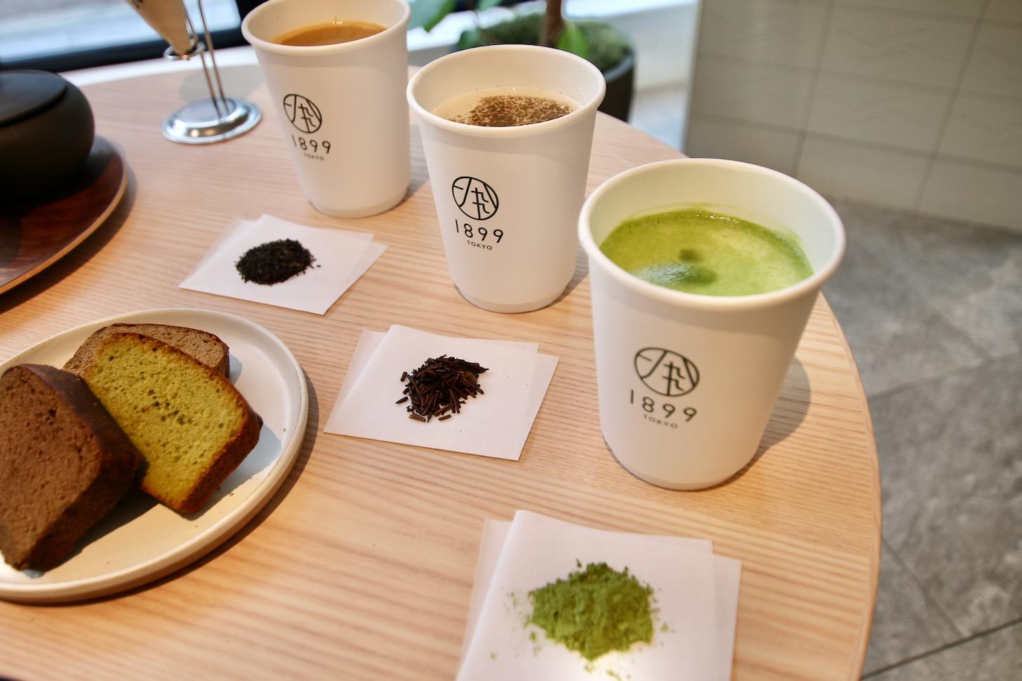 「ほうじ茶ラテ」や「和紅茶ラテ」
