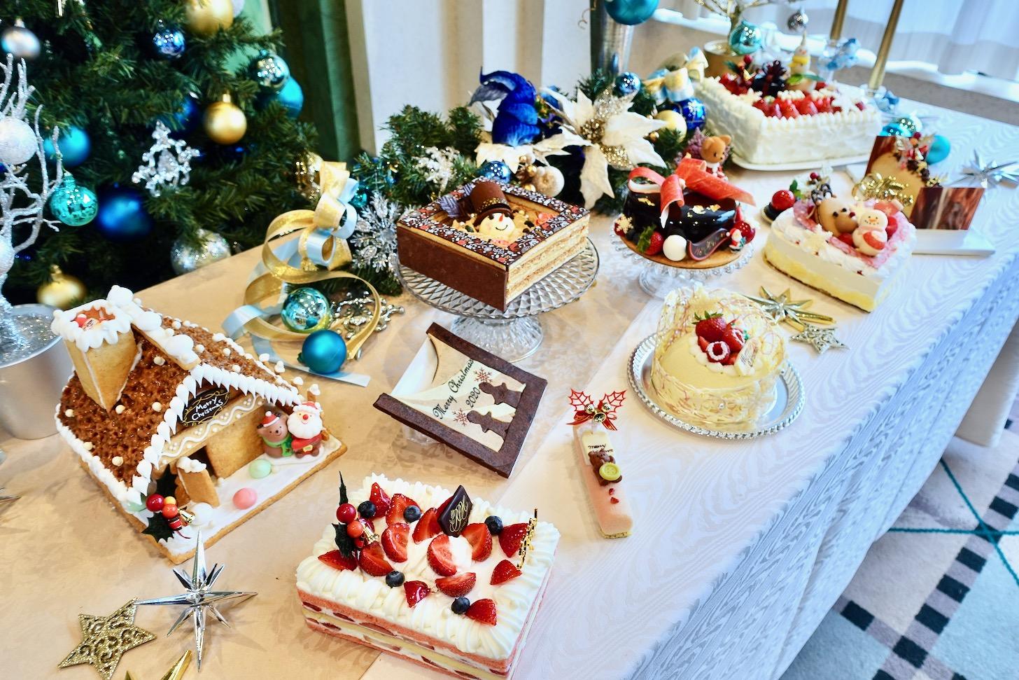 ロイヤルパークホテルでクリスマススイーツコンテスト入賞作品が10月から予約開始