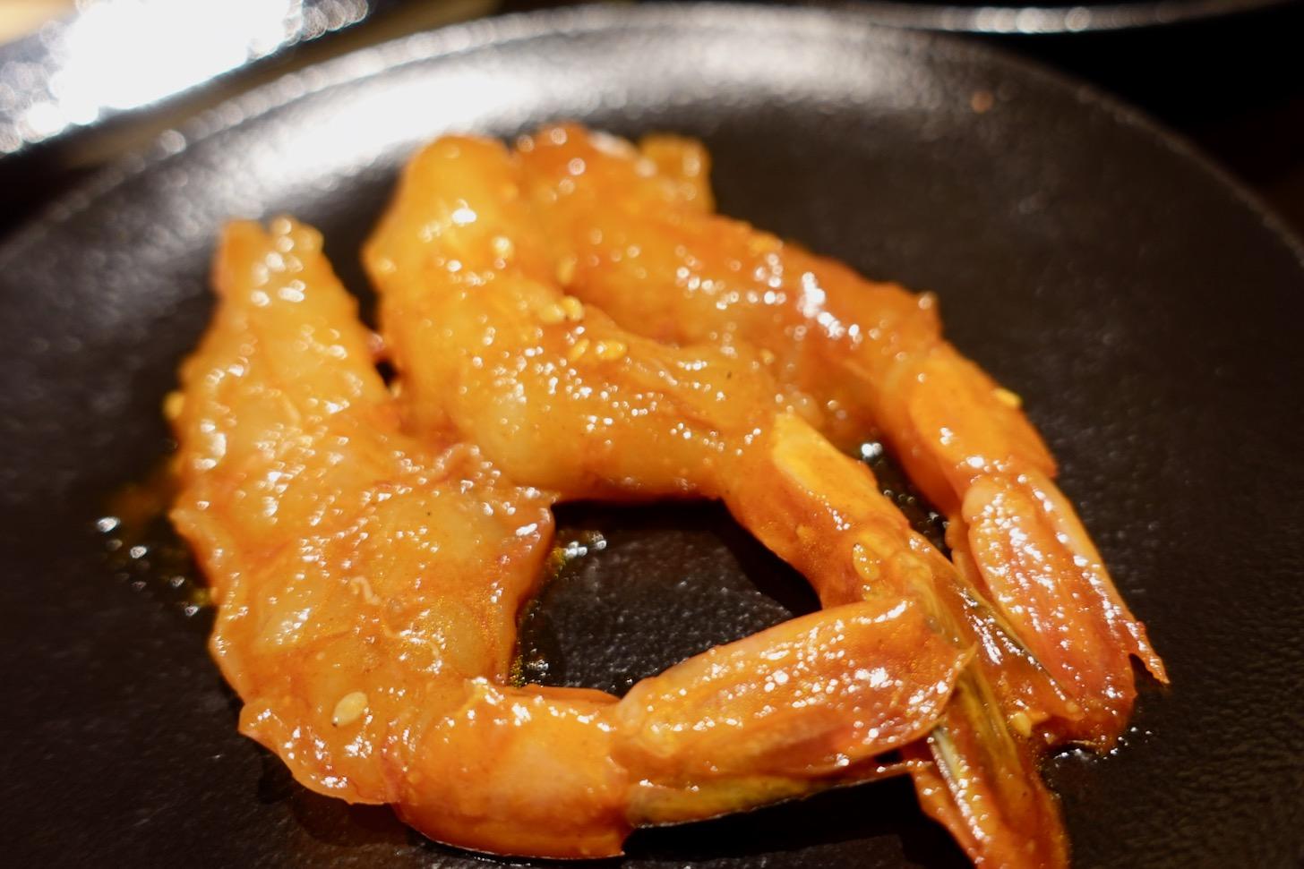 そのまま食べる赤海老ケジャン