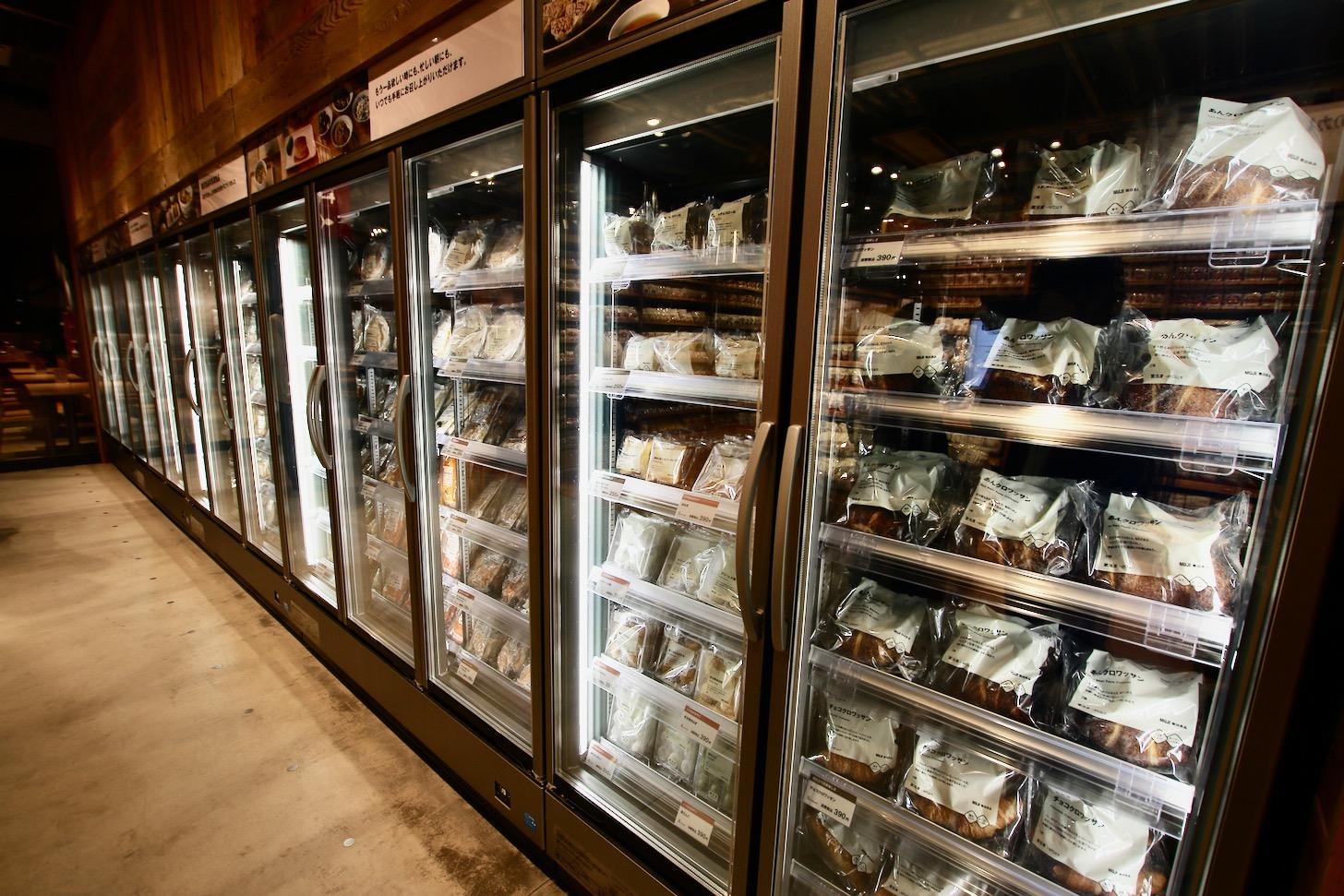無印良品 東京有明 冷凍食品売り場