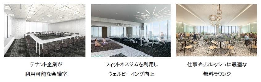 テナント企業向け会員制施設・サービス「mot. 三井のオフィス for Tomorrow」