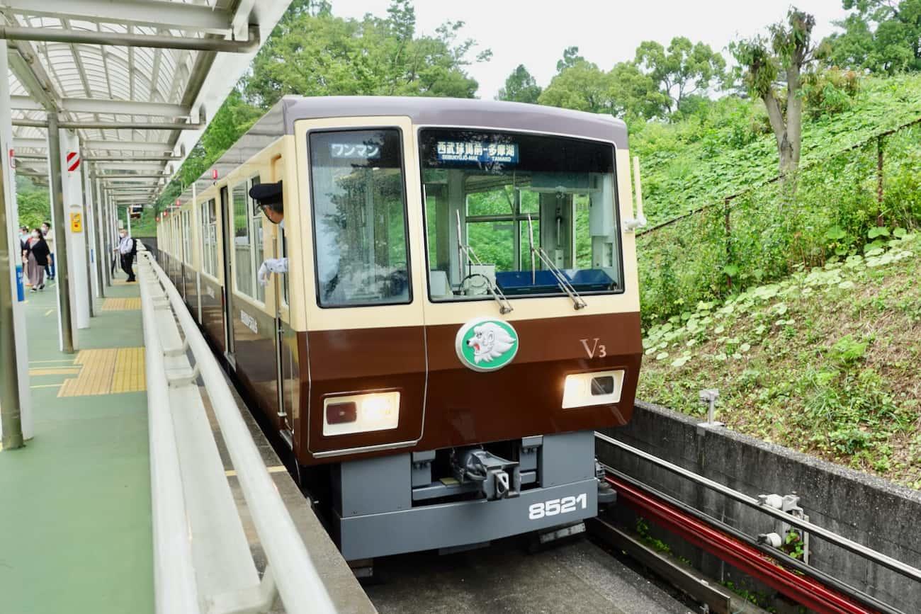 西武鉄道山口線(レオライナー)