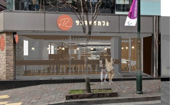 サンマルクカフェ+R(プラスアール)店舗外観イメージ
