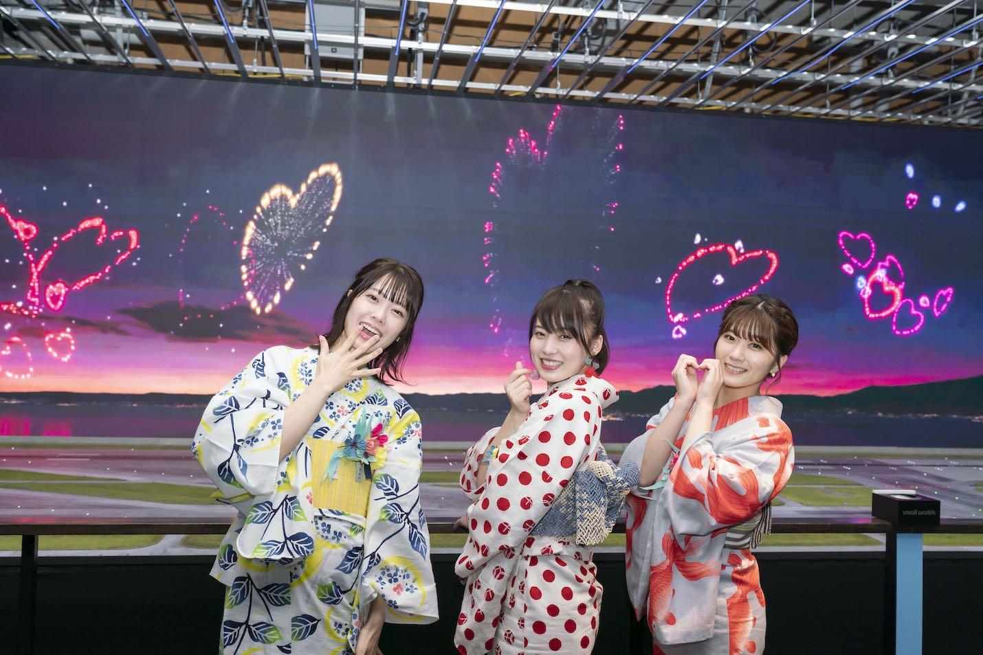 「スモールワールズ TOKYO」夏の特別イベント「浴衣ナイト」
